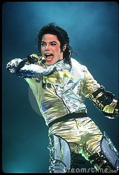 Michael Jackson performing live on stage -- I want to be like MJ. Performance level. Vocal level. Dance level. Lyric level. All of it!