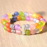 How to Make a Beaded Bangle out of Gorgeous and Colorful Beads