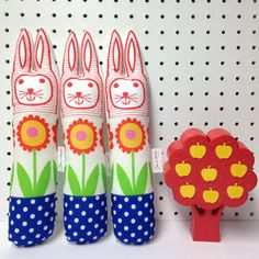 Child's scandinavian softie toy Easter bunny rabbit par Janefoster
