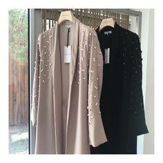 Favorite look by Niqab Fashion, Muslim Fashion, Modest Fashion, Fashion Dresses, Stylish Dress Designs, Stylish Dresses, Mode Turban, Modern Abaya, Abaya Dubai