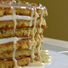 Honey Cake Slovak Recipes, Czech Recipes, Unique Desserts, Honey Cake, No Bake Cake, Great Recipes, Sweet Tooth, Sweets, Baking