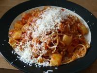 Afrykańskie spaghetti (african macaroni) (dieta wegańska)