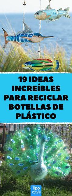 Reciclaje Ideas, Movie Posters, Diy Ideas, Reuse Recycle, Recycle Plastic Bottles, Recycled Bottles, Upcycling, Arts And Crafts, Wood Burning Art