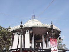 Templete del circulo central del recinto ferial