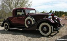 1933 Packard Eight Coupe
