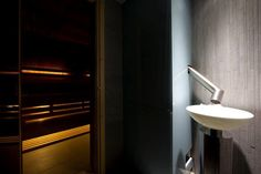 Sauna fińska + lodowa fontanna w Vanilla SPA :) #Niebieski #Hotel