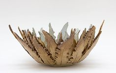 Ceramics by Joan Hardie at Studiopottery.co.uk - 2013. Fern bowl