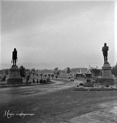 Indios Verdes, carretera México-Laredo (Insurgentes Norte) 1950.