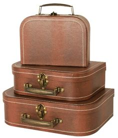 Replica Vintage-Style Wooden Suitcases (HF 016-B) huafeng... https ...