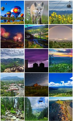 Steamboat Resort fan photos from July 2015. Steamboat Springs, Colorado