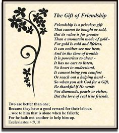 Motivational Monday ~ The Gift of Friendship I feel so blessed to have a very special friend who is also my sister-in-law. Sister In Law Quotes, Special Friend Quotes, Sister Poems, Best Friend Poems, Bff Quotes, Special Friends, Poems For Friends, Eeyore Quotes, Special People