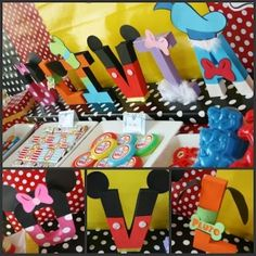 mickey mouse birthday decorations | Mickey Mouse Clubhouse 2nd Birthday Party | | Kara's Party IdeasKara's ...