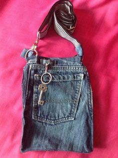 A personal favorite from my Etsy shop https://www.etsy.com/listing/516670080/denim-crossbody-purse