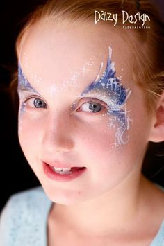 Find parts of your perfect world on Indulgy, keep them for yourself, and share to others. Girl Face Painting, Mask Painting, Face Painting Designs, Body Painting, Eye Makeup, Mask Makeup, Frozen Face Paint, Mode Halloween, Maquillage Halloween Simple