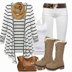 12+ Trendy Stripped Outfit Ideas To Try This Spring | trends4everyone
