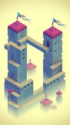#MonumentValley iOS #Game by ustwo