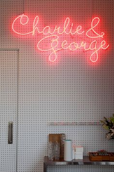 Charlie & George | 38-60 Stonefields Ave, Mt Wellington | Must-try:  Stack of corn wafers, spicy chicken, watercress and crème fraîche. Charlie George, Creme Fraiche, Neon Signs, Hospitality, Spicy, Commercial, Chicken, Architecture, Arquitetura