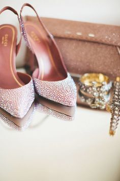 Gucci wedding shoes | Photo by First Mate Photo Co
