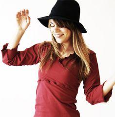FAUX WRAP SHIRT wrap shirt, custom clothing, unique fashion, womens shirts, womens tops, handmade, maternity top, made to order, treehouse28 de treehouse28 en Etsy https://www.etsy.com/es/listing/202511280/faux-wrap-shirt-wrap-shirt-custom