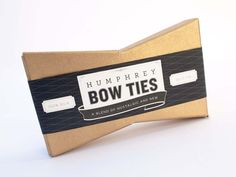 Humphrey Bow Ties (Student Work) on Packaging of the World - Creative Package Design Gallery