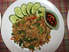 Spicy Fried Rice with Basil (Khao Pad Ka Pow) Recipe
