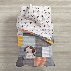 Shop Poky Little Puppy Toddler Bedding.  The Poky Little Puppy has wandered out of his Little Golden Book and onto this exclusively-designed toddler bedding.
