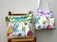 Mommy and Me Chevron Large Diaper Bag set  by PreciousLittleTot, $194.99