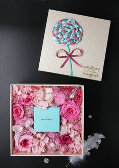 proposal gift-preserved flower box in Vancouver – anenchantedgarden