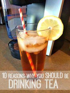 10 Health Benefits to Drinking Tea