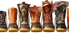 L.L. Bean has more duck boots