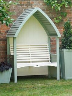 AFK Cottage Arbour Sage and Cream