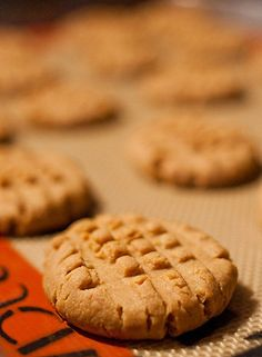 Peanut Butter Cookies  low carb