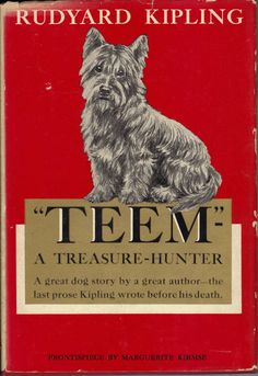 Marguerite Kirmse Teem a Treasure Hunter Rudyard Kipling 1938 First Edition book