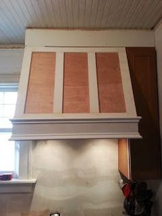 Confessions of a DIY-aholic: How to build a shaker style range hood
