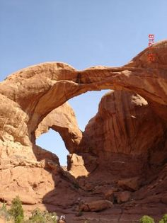 #Double Arch at #Arches N'tl Monument, #Moab UT