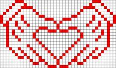 Heart Hands perler bead pattern http://mistertrufa.net/librecreacion/culturarte/?p=12
