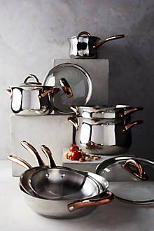 Copper-Handled Cookware Set