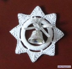 Ela Klementowicz's 860 media content and analytics - Her Crochet Christmas Bells, Christmas 2017, Merry Christmas, Christmas Lights, Christmas Crafts, Christmas Decorations, Snowflake Ring, Snowflakes, Crochet Stars