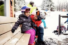 I have one real deal skier (older kid) and one snow enthusiast (younger kid) which is a start, right? Here's what I learned about taking kids skiing for the first time Family Ski Holidays, Luxury Ski Holidays, Ski Tips For Beginners, Swiss Ski, Kropf, Snow Activities, St Moritz, Kids Skis, Runway