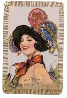 Swap Playing Cards 1 Single Barribal Named Lady Arriet | eBay