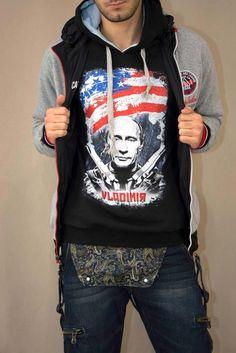 Ανδρικό φούτερ Vladimir  FOUT-1207-bc Φούτερ - Sport & Αθλητικά - Άνδρας Hoodies, Sweaters, Fashion, Moda, Sweatshirts, Fashion Styles, Parka, Sweater, Fashion Illustrations