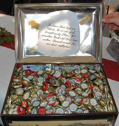 Geschenkidee silberne Hochzeit