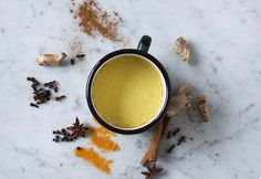 Golden milk or Turmeric milk is a delicious nourishing treat and since some of you are not familiar with this amazing warming and soothing drink, winter is
