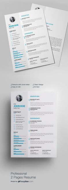 The Modern Resume Adorable Resume Template Instant Download Professional Resume Template .