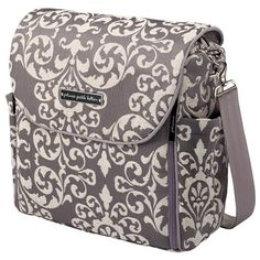 Petunia Pickle Bottom Diaper Bag Boxy Backpack Chenille Earl Grey