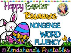 Nonsense+Word+Fluency+R.T.I.+Pack+by+Ms.+Lendahand+(EASTER+Theme)PLEASE+do+not+purchase+this+separately+if+you+already+have+purchased+Nonsense+Word+Fluency+RTI+GROWING+BUNDLE+~+SET+1+with+Ms.+Lendahand+because+this+EASTER++Set+is+already+included+in+it.+*RTI+6+Player+Blackout+Bingo*RTI+I+HAVE+WHO+HAS+Game*Coordinating+50+Slide+Power+Point++*NWF+Assessment+I+will+be+creating+a+matching+Read+and+Write+the+Room+Easter+Set!