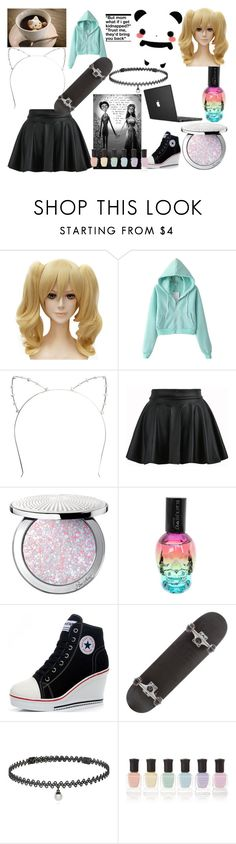"""""""set 1 for friends"""" by roleplay-748 ❤ liked on Polyvore featuring Wet Seal, Guerlain, BERRICLE and Deborah Lippmann"""