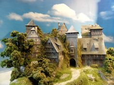 SCHLOSS / BURG HO DIORAMA Burg Rubinienstein / Aktionsangebot | eBay