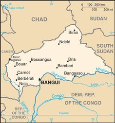 "CENTRAL AFRICAN REPUBLIC TRAVEL WARNING:  The U.S. Government ""warns U.S. citizens against all travel to the Central African Republic (CAR), and advice those in the country to seriously consider departing.""  5/1/15"