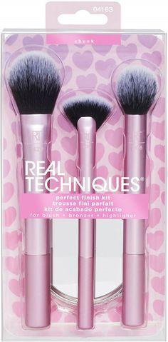 Real Techniques, Brush Sets, Bronzer, Parfait, Blush, Lipstick, Beauty, Lipsticks, Rouge